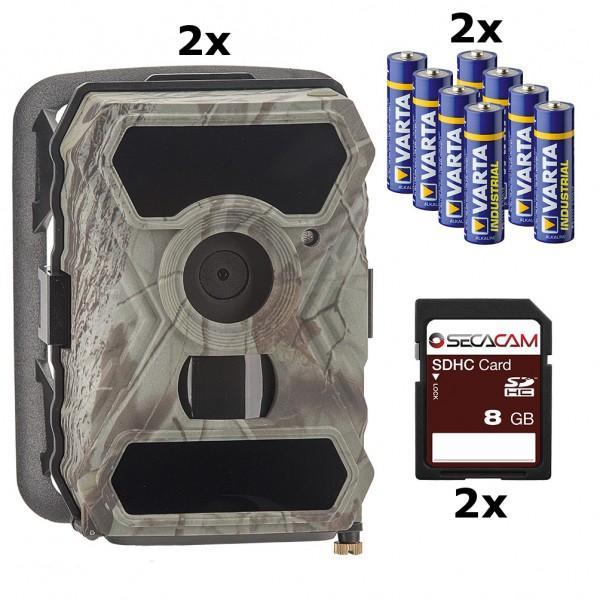 SecaCam Raptor Premium Doppel-Pack