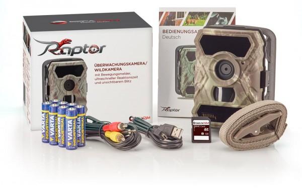 SecaCam Raptor Premium Specialpack - 32 GB